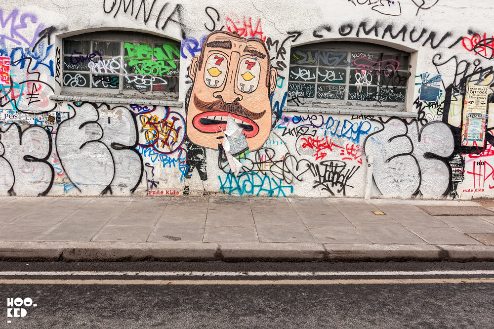 Street Artist Don't Fret hits the Streets of London