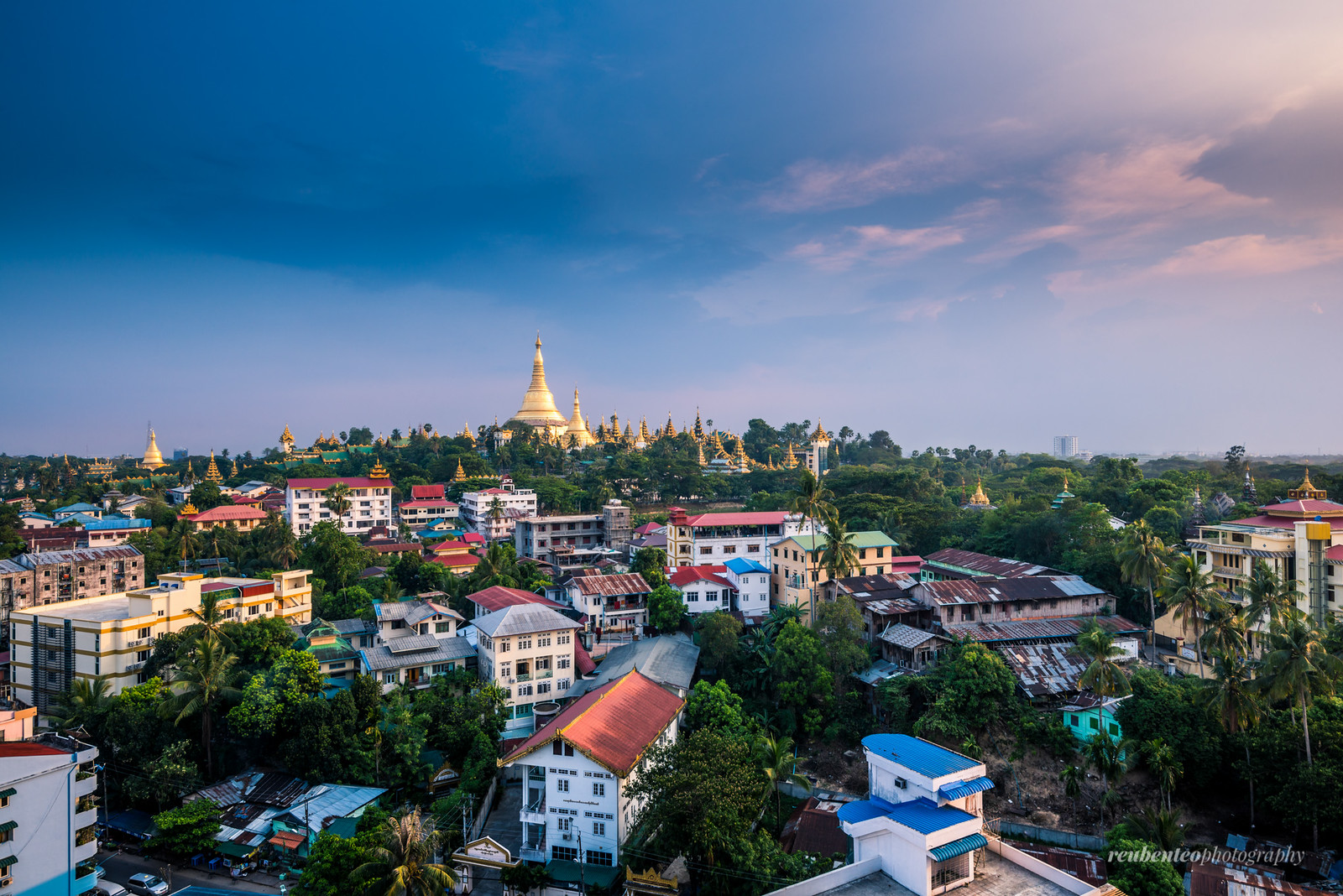 Shwedagon Pagoda in the Afternoon