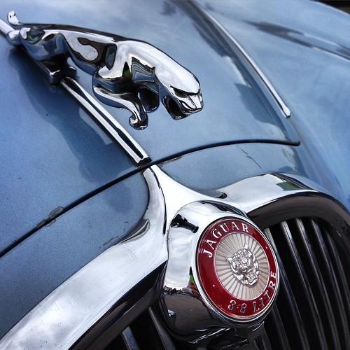 Jaguar S-Type - Patrimonio sobre ruedas - Día del Patrimonio, Santiago 2015
