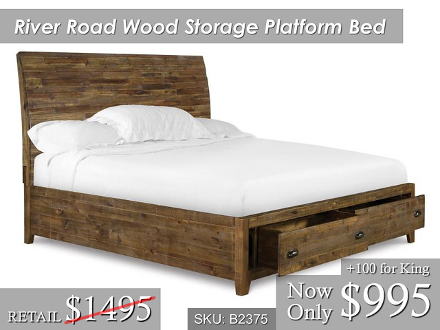 River Road Storage Bed