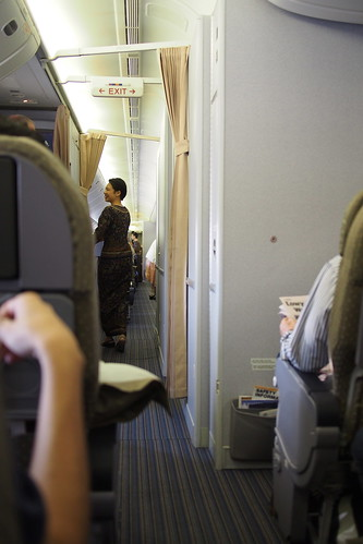 Singapore Airlines SQ217 - Singapore to Melbourne