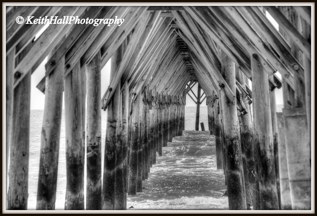 Seaview fishing pier north topsail beach onslow county for Seaview fishing pier
