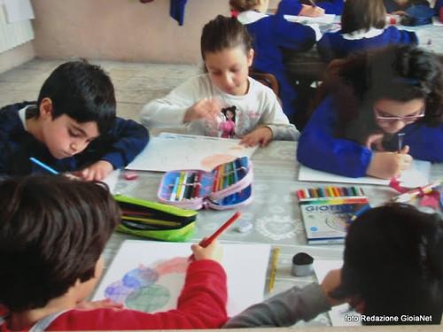 scolari dipingono