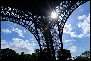 Sunlight on the Eiffel Tower | by Jason@Dynamicmoment
