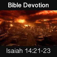 Image result for Isaiah 14:21-23