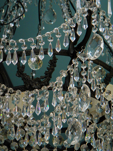 A chandelier in a shop in a shop in Vancouver