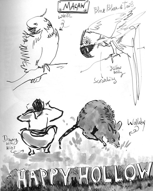 Sketchbook #101: Happy Hollow Trip - Drawing with Kids