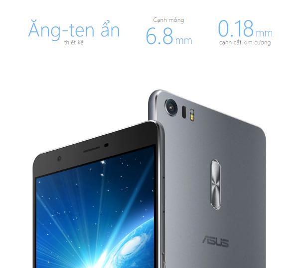 Asus Zenfone 3 chính hãng mua tại CellphoneS