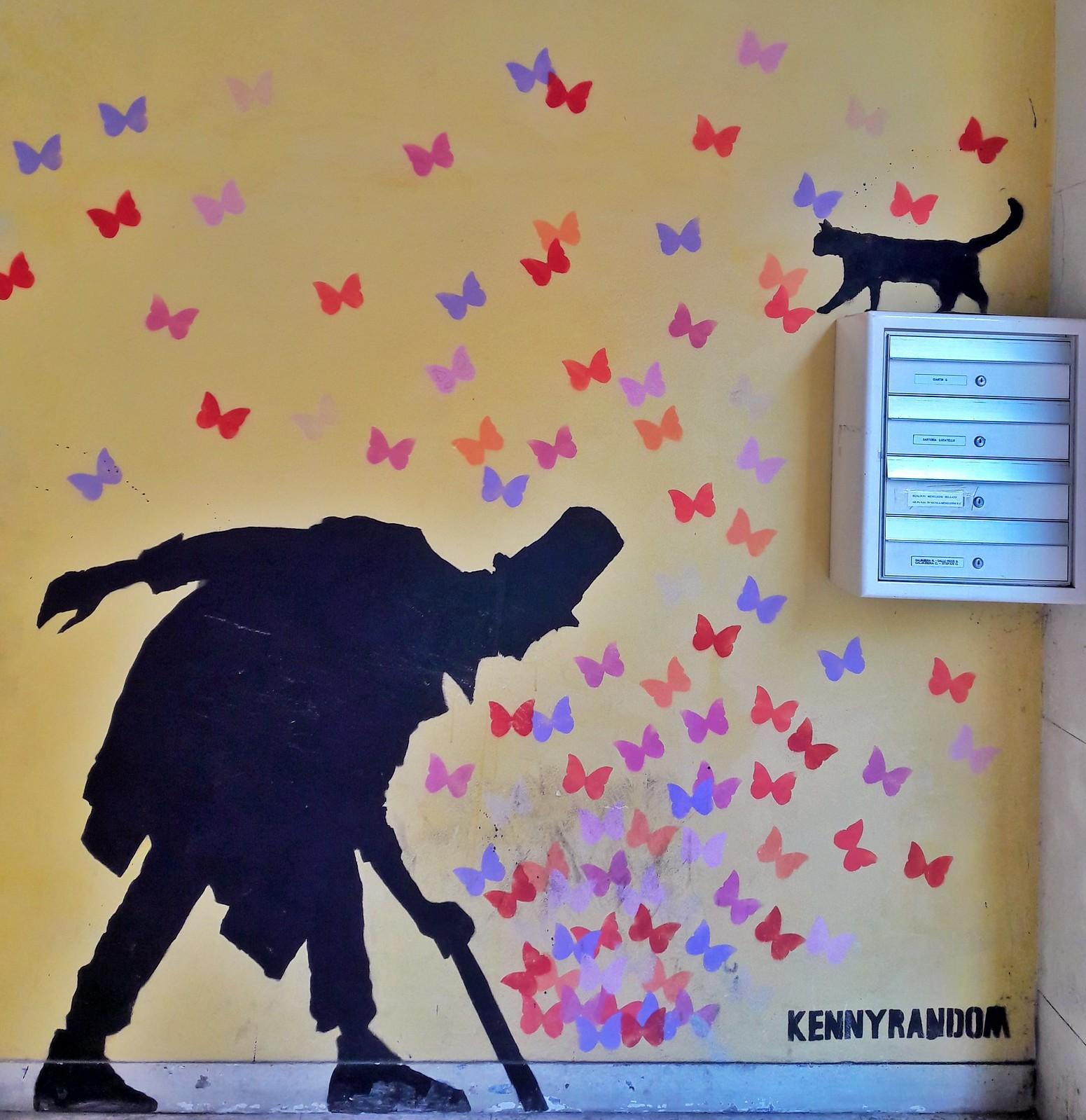 murales kenny random padova