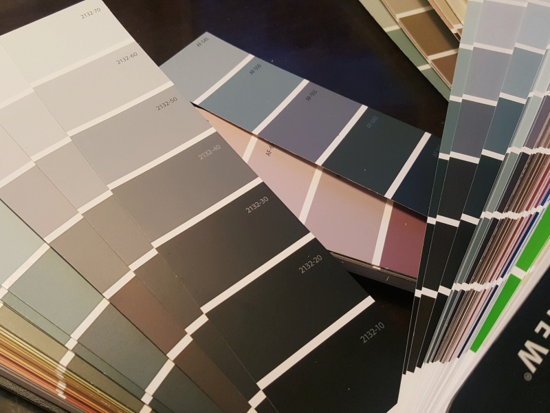 Benjamin Moore colours