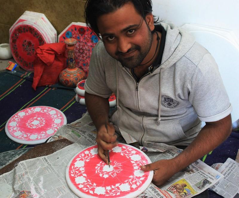 Агра Индия мрамор