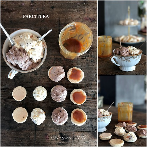 farcitura macaron con gelato