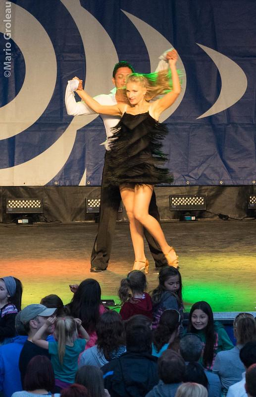 Démonstration de danses latine par San Tropez!