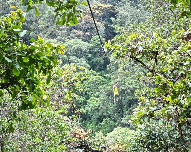 canopy tour - La Ruta del Yalu