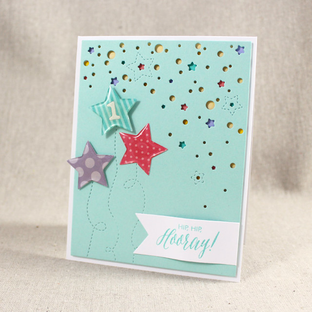 Hip, Hip, Hooray Card