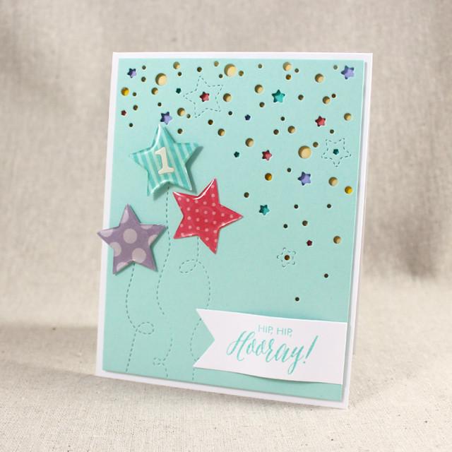 Hip, Hip, Hooray Card