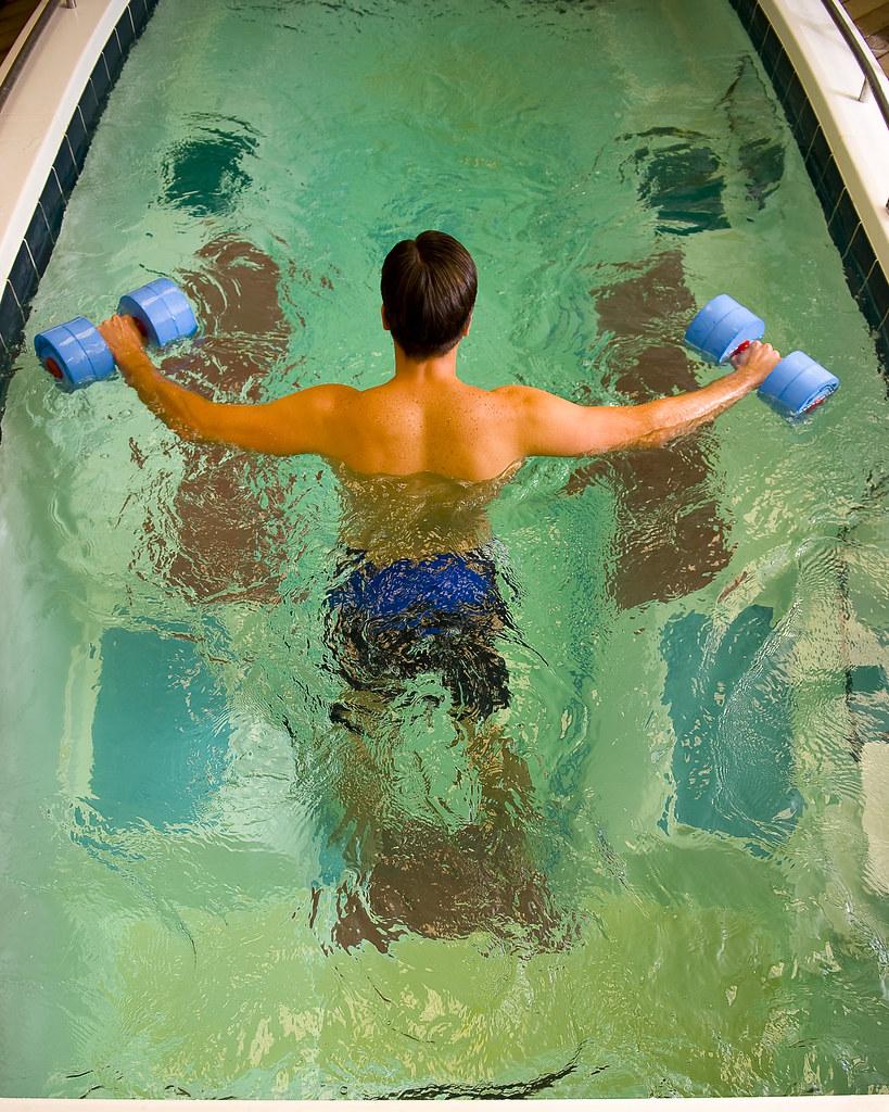 Upper Body Aquatic Workout Swimex Pools Flickr
