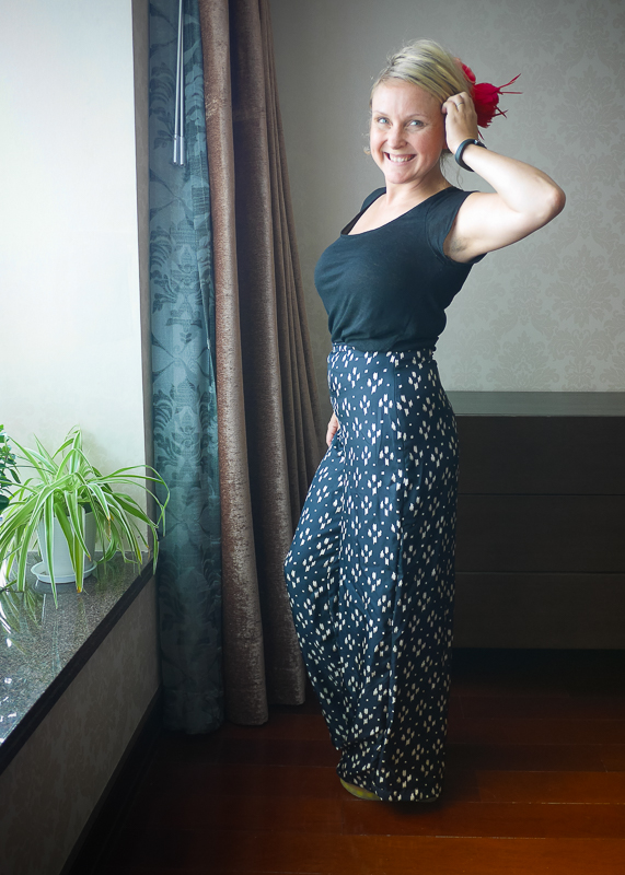 Veronica Darling: Voila: Holly's Palazzo Pants
