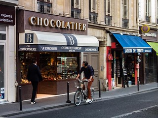 "Chocolate Shop ""La Bonbonnière de la Trinité"". Paris. France. 