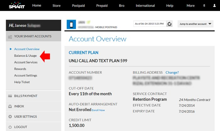 How To Get A Copy Of Smart Billing Statement Online