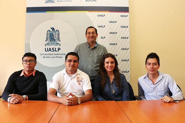 Estudiantes Sudamericanos interesados en intercambio académico con la UASLP