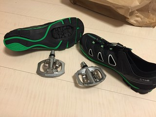 spd shoes and pedals