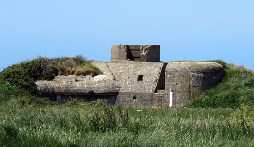 An old bunker at Cap Fagnet