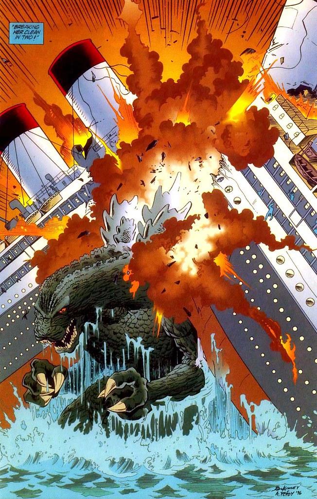 Godzilla vs. the Titan...