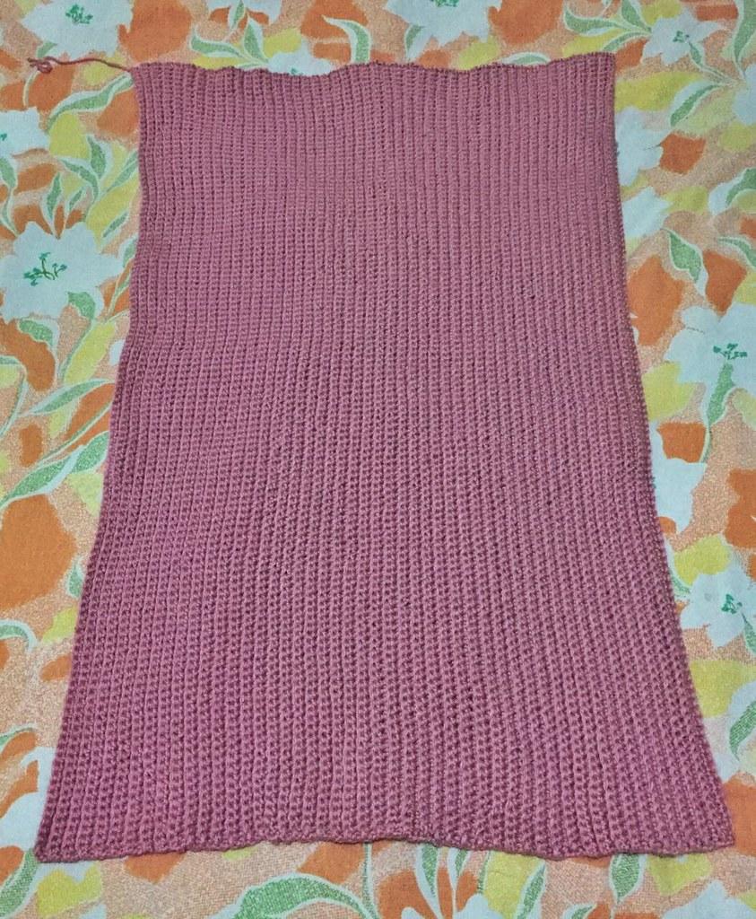 crochet rectangle for sweater