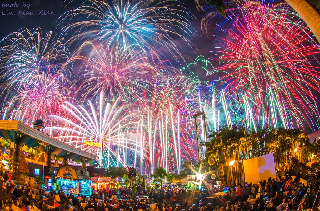 2017 劍湖山世界跨年煙火