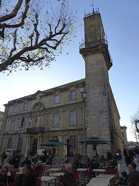 la mairie d'Aix
