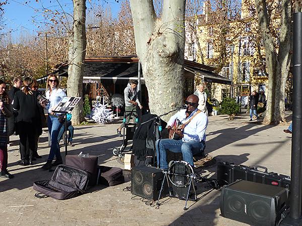 musicien Aix