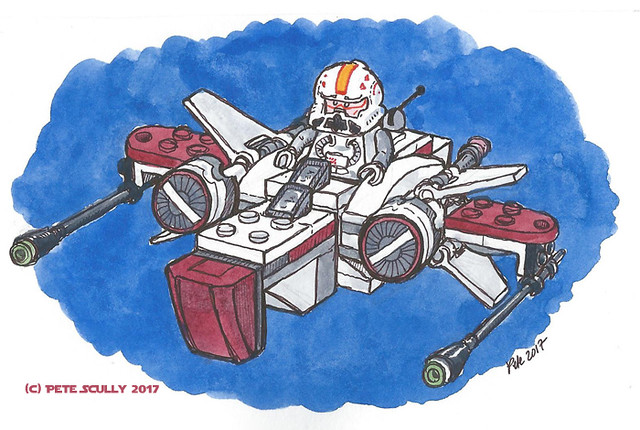 ARC Clone fighter micro-fighter