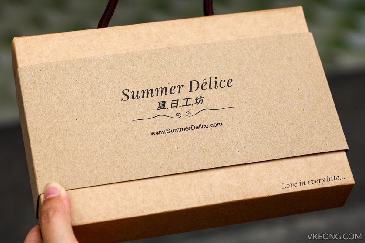 Summer Delice Macadamia Tart Gift Box