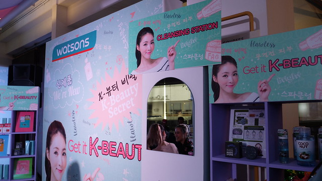 watsons k beauty launch