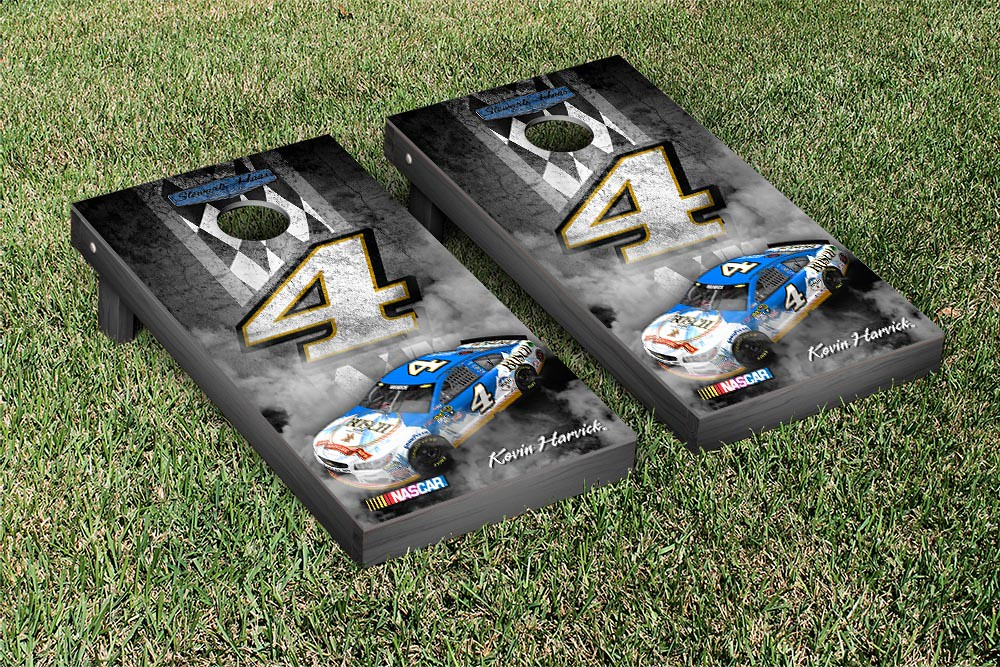 KEVIN HARVICK #4 CORNHOLE GAME SET PIT ROW VERSION
