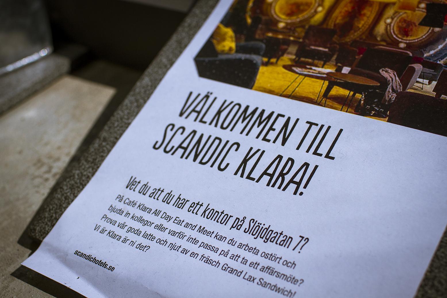 Scandic Klara Stockholm www.traningsgladje.se