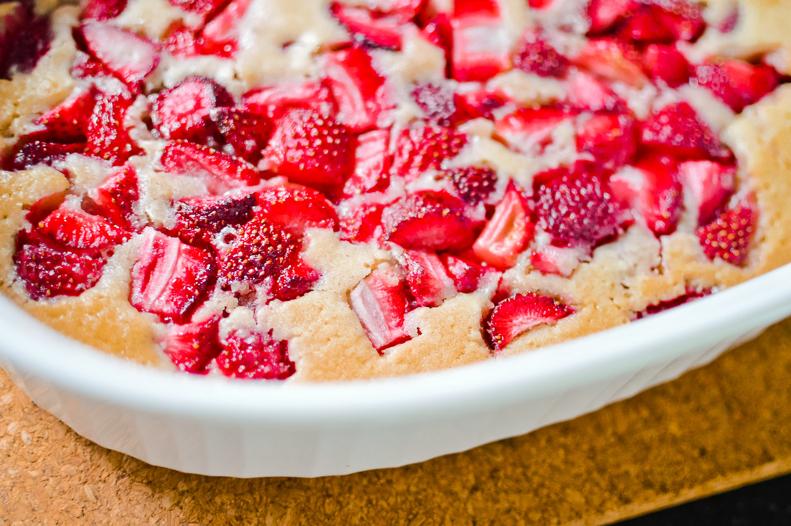 Vegan Strawberry Cobbler