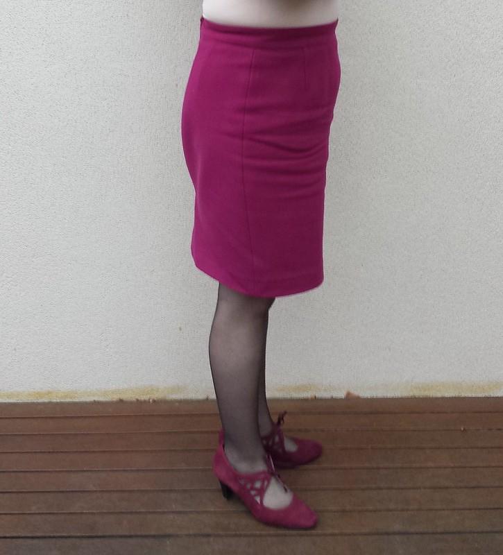 Lekala 5088 three seam skirt