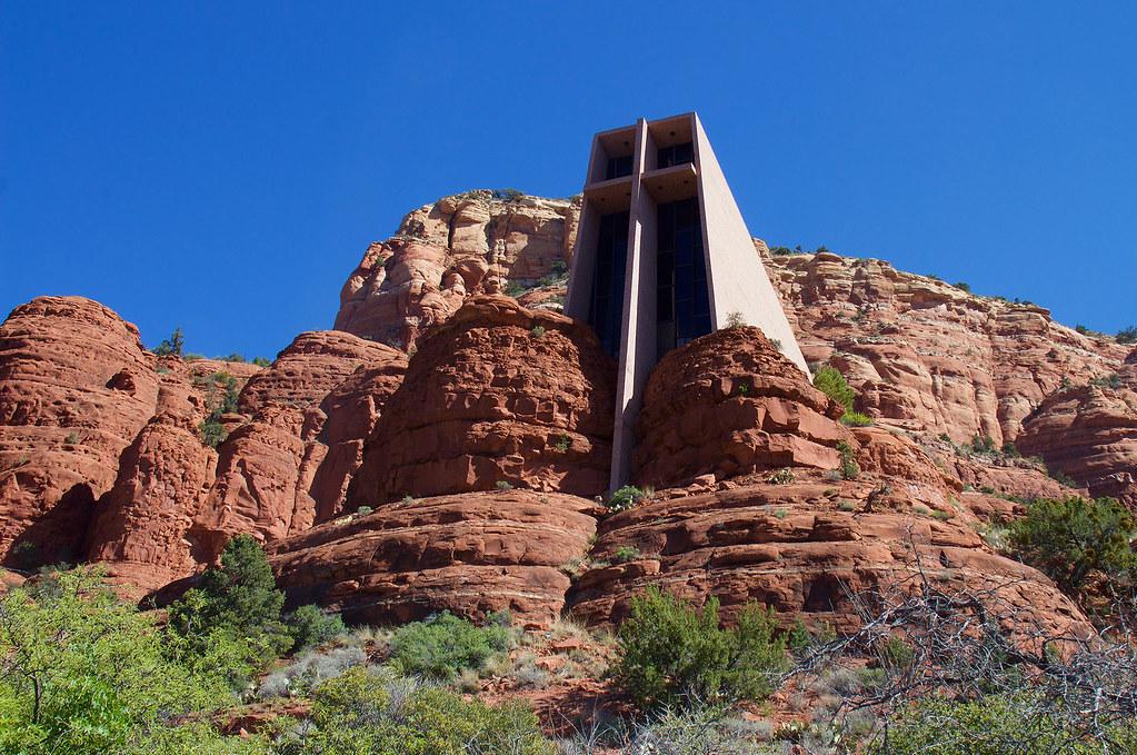 Chapel Of The Holy Cross Sedona Arizona The Chapel Of
