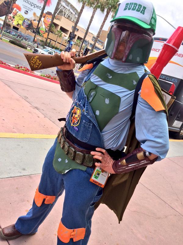 San Diego Comic-Con 2015 Cosplay - Bubba Fett