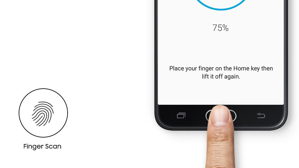j5 prime finger sensor