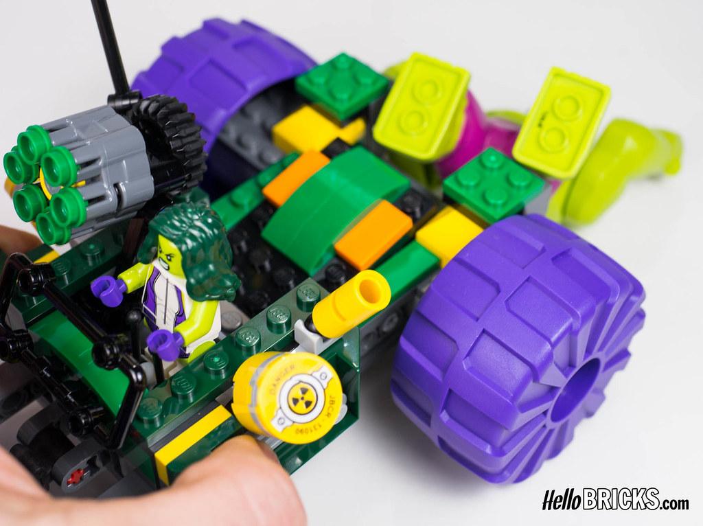 Lego 76078 - Marvel - Hulk vs Red Hulk | Lego 76078 Marvel S… | Flickr
