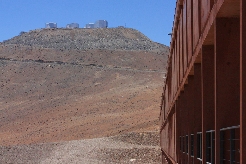 Residencia, ESO Paranal Observatory, Chile, fotoeins.com