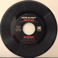 HERB ALPERT:ROTATION(RECORD SIDE-B)