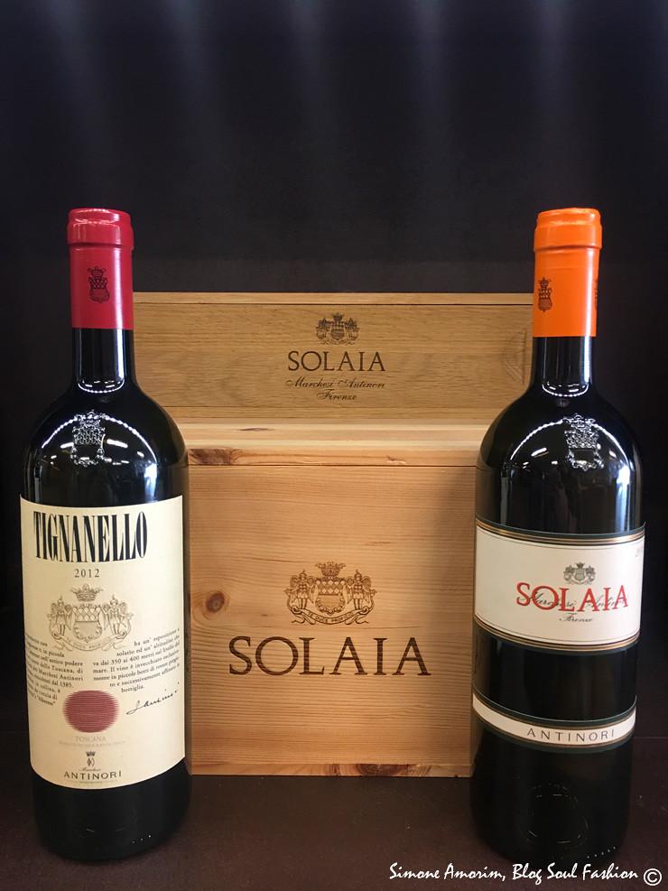 Um dos vinhos mais famosos da cantina Antinori.
