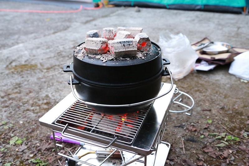 準備烤雞囉!