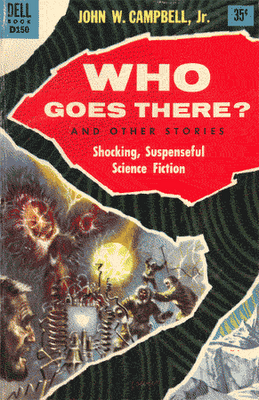 Who Goes There - book cover 1