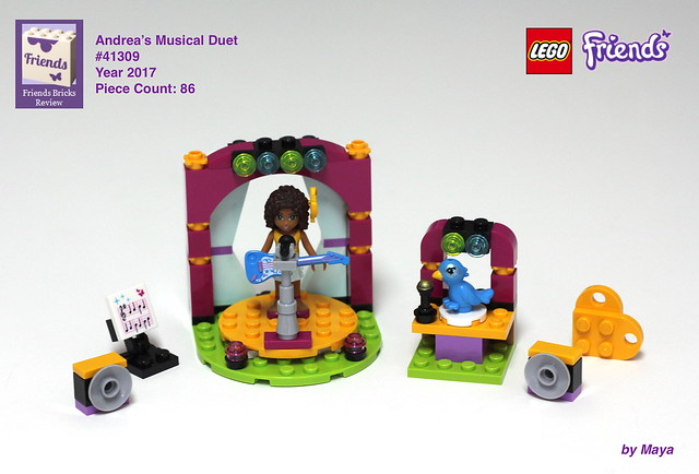Heartlake Times Review 41309 Andreas Musical Duet