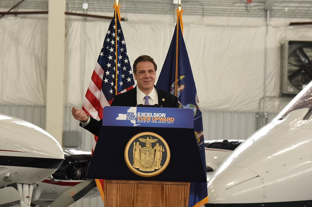 Governor Cuomo Makes Announcements at the Plattsburgh International Airport